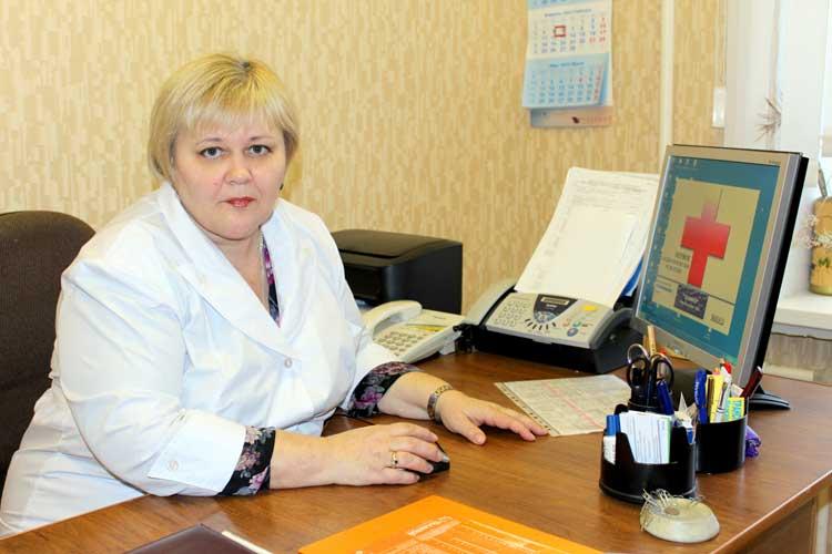 Заведующая отделением - Литвинова Галина Анатольевна